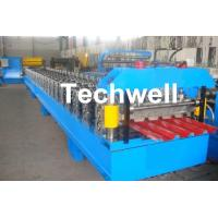 Cheap IBR Roofing Sheet Roll Forming Machine / IBR Panel Forming Machine For Making Roof Wall Cladding for sale