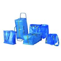 Ikea pp storage bags with silk handle recycled ikea for Ikea luggage cart
