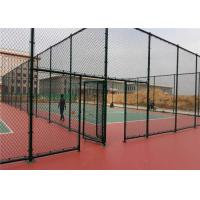 Cheap Chain Link Wire Metal Fence Stainless Steel 30-100mm Mesh Stadium Security for sale