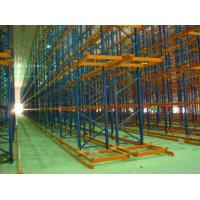 Cheap Supermarket Industrial Pallet Racks , Customized Basicly Storage System for sale