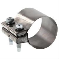 China Customized Size Exhaust Band Clamp Stainless Steel Heavy Duty Exhaust Clamp on sale