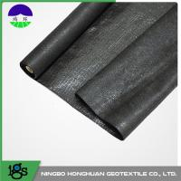 Cheap Biological Split Film Woven Geotextile Seepage With UV Resistant wholesale