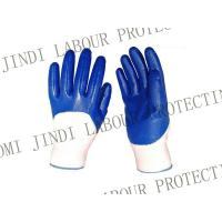 Cheap 13 gauge  nitrile coated work gloves for sale