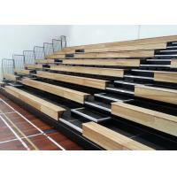 Electric Control Retractable Grandstands For StadiumHall / Indoor Arena