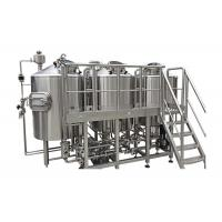 Cheap Fabrication SS316 Home Brew Kit 1800L Output Beer Brewing Vessel CIP Cleaning System for sale