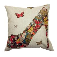 Butterfly printed pp cotton foam sofa cushions replacement wholesale