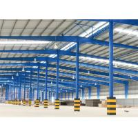 Cheap Prefabricated Steel Structure Warehouse Construction With Portal Structure for sale