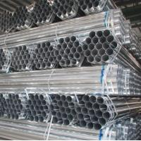 Cheap BS1387 PRE GALVANIZED ROUND STEEL pipe made in China market exporter mill factory for sale