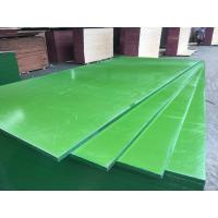 Cheap China ACEALL Construction Shuttering Green PP PVC Plastic Film Coated Plywood Board Lumber for sale