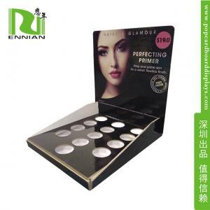 Buy cheap Cosmetics POP Cardboard Displays / Skin Care Paper material Retail Display Racks from wholesalers