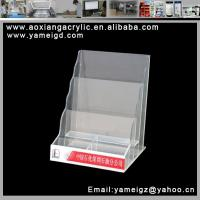 Cheap 6 compartments for nail varnish display cosmetic case for sale