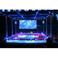 Cheap Multi Functional Indoor P4 LED Screen , LED Stage Backdrop High Refresh 3840 Hz for sale