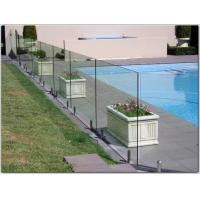 Cheap Exterior stainless steel spigot glass railing/ glass balustrade with free design for sale