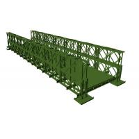 Cheap Professional Temporary Bailey Bridge Steel Structure Customized AWS Approved for sale
