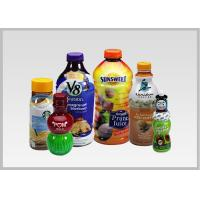 Cheap PET Drink Bottle Labels , Recyclable Heat Shrink Wrapping Film For Packaging 30mic To 50mic Thickness for sale