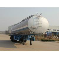 Cheap Food Grade Edible Oil Milk Transport Trailer Mechanical Suspension Type for sale