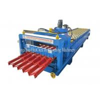 Cheap Customized GI / PPGI / AL Steel Roof Step Tile Making Machine 8.5 * 1.5 * 1.2m for sale