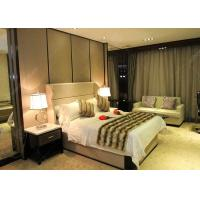 Cheap Antique Business Type Hotel Bedroom Furniture Covered With Glossy Lacquer Finish for sale