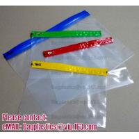 Cheap SLIDER LOCK BAG, PP SLIDER ZIPPER BAGS, WATER PROOF BAGS, GRID SLIDE SEAL BAGS, REUSABLE BAGS, SWIMWEAR for sale
