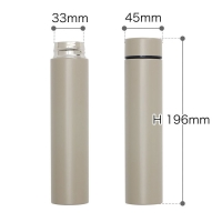 Cheap 7 Ounce 45mmx196mm Stainless Steel 200ml Thermos Flask for sale