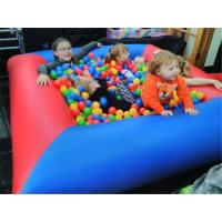 Cheap Safety Funny Backyard Small Kids Inflatable Ball Pit Pool For Party for sale