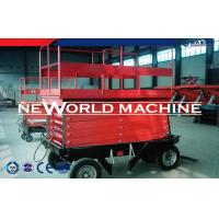 Cheap 2m - 12m Hydraulic Scissor Lift Vertical Hydraulic Lift Tables for sale