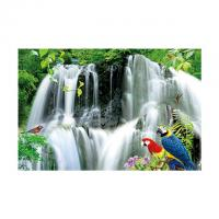 Cheap Large Size PET 3D Lenticular Printing Poster Of Waterfall Scenery Theme for sale