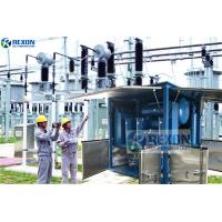 Buy cheap Dust Proof Type Vacuum Heating Treatment Transformer Oil Purifier Machine from wholesalers