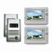 Cheap 7-inch Color Display Video Intercom for Villa, with Audio/Video Transmission for sale