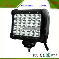 Cheap 72 Watt 7 Inch Four-Row LED off-Road Light Bar for 4X4 Vehicle for sale