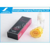 Cheap Black 375g Silver Card Paper Packaging Boxes / Paper Gift Box For Perfume for sale