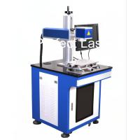 Cheap Floor Stand Carbon Steel Laser Marking Equipment With PC , Fiber Laser Printer for sale