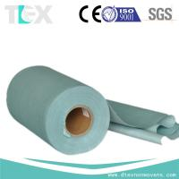 Cheap [TEXCLEAN] 55% woodpulp 45% polyester nonwoven jumbo rolls for sale