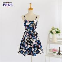 Cheap Summer new lady backless beach patterns casual loose t-shirt prom dress ladies fashion clothing for sale for sale