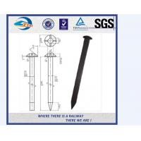 Cheap Q235 / 35# Rail Road Spikes / Railway Dog Spike ISO898-1 UIC864-1 for sale