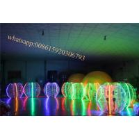 Cheap inflatable led light lighting adult bumper ball rent bumper ball prices buddy bumper ball belly balls tup soccer zorb for sale