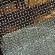 Cheap Crimped Wire Mesh Made of Black Iron for sale