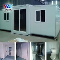 China New Portable 20ft prefab expandable foldable container house(Bathroom, kitchen, home improvement) for sales on sale