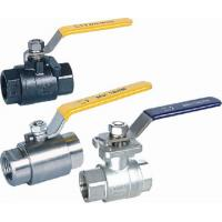 Cheap Casting 2PC ball valves 2000PSI Welding Seal for sale