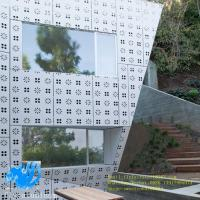 Buy cheap Punching pattern aluminum single board outdoor aluminum curtain wall perforated from wholesalers