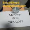 Cheap Silver white Metallic Mercury Email/Skype:star@xtlandi.com Pure Silver Metallic Liquid Mercury for Gold Mining for sale