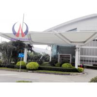 Cheap Double PVC - coated Membrane Tensile Fabric Covered Buildings For Airport for sale