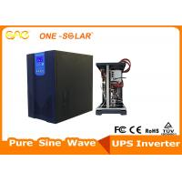 Cheap Hybrid Pure Sine Wave Solar Panel Power Inverter With 30A PWM Solar Charge Controller wholesale