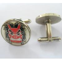 Cheap Hot Fashion Stainless Steel Laser Engraving custom cufflinks  for sale