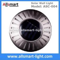 Buy cheap UFO Round Solar Wall Lights RGB Solar Inderground Lamp Solar Pathway Lawn Light Solar Dock Deck Light Solar Stair Light from wholesalers