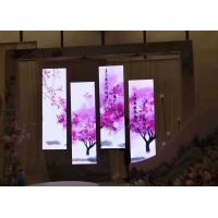 Cheap Advertisement Poster Mobile LED Screen P2.5 1000 Nits Front Access Maintenance for sale