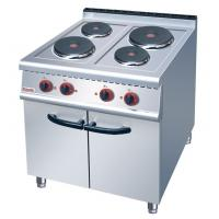 Cheap JUSTA Electric 4-Plate Range Burner Cooking Range With Cabinet Western for sale