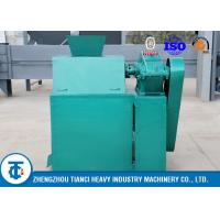 China Carbon Steel Double Roller Fertilizer Granulation Equipment For Limestone on sale