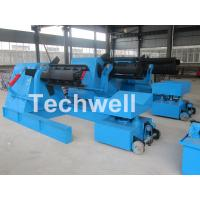 Cheap 7 / 10 / 15 Ton Weight Capacity Steel Coil Decoiler With Adjustable Working Speed for sale