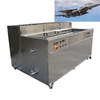 Cheap Aircraft Accessories Industrial Ultrasonic Cleaning Machine For Steel Aluminum Copper Brass for sale